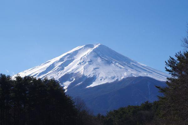 2015.1.2 富士吉田から見た富士山