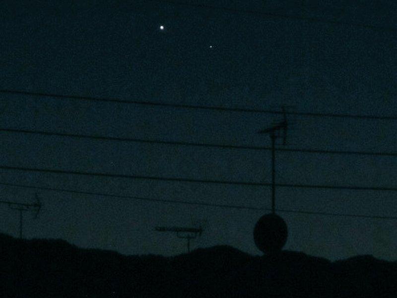金星と水星
