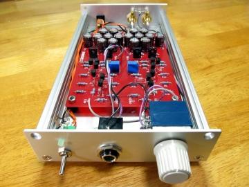 ぺるけ式 QC版FET差動増幅ヘッドホンアンプ