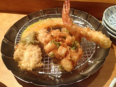 天ぷらめし 金子半之助 穴子の天ぷらめし2