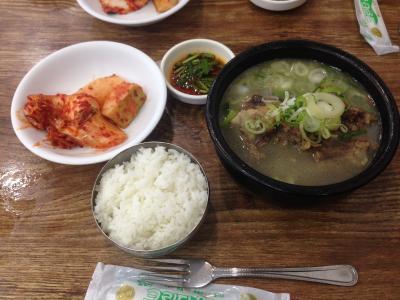 ウノ食堂 牛のテールスープ