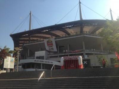 ソウルワールドカップスタジアム外観