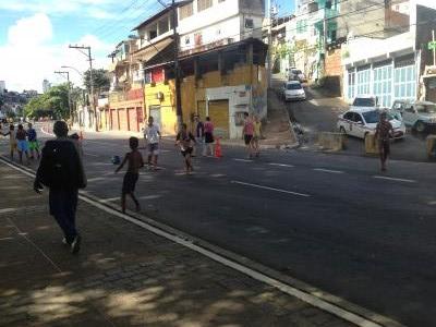 ブラジル ストリートサッカーの風景