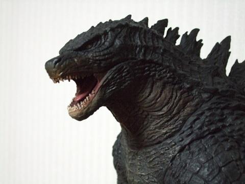 『ゴジラ』のフィギュア~東宝30cmシリーズ「ゴジラ(2014)」(4)