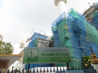 サルタン・モスク③ 2015 3・21