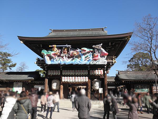 20150110寒川神社③