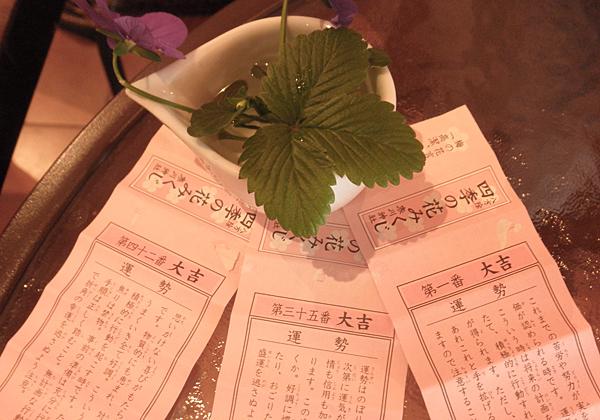 20150110寒川神社おみくじ
