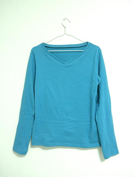 20150321VネックTシャツ