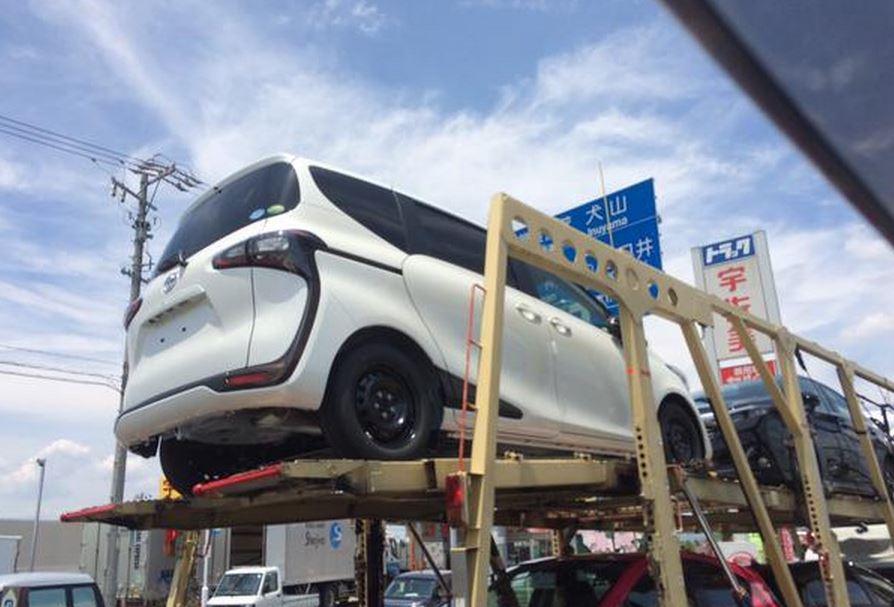 新型シエンタ 実車2
