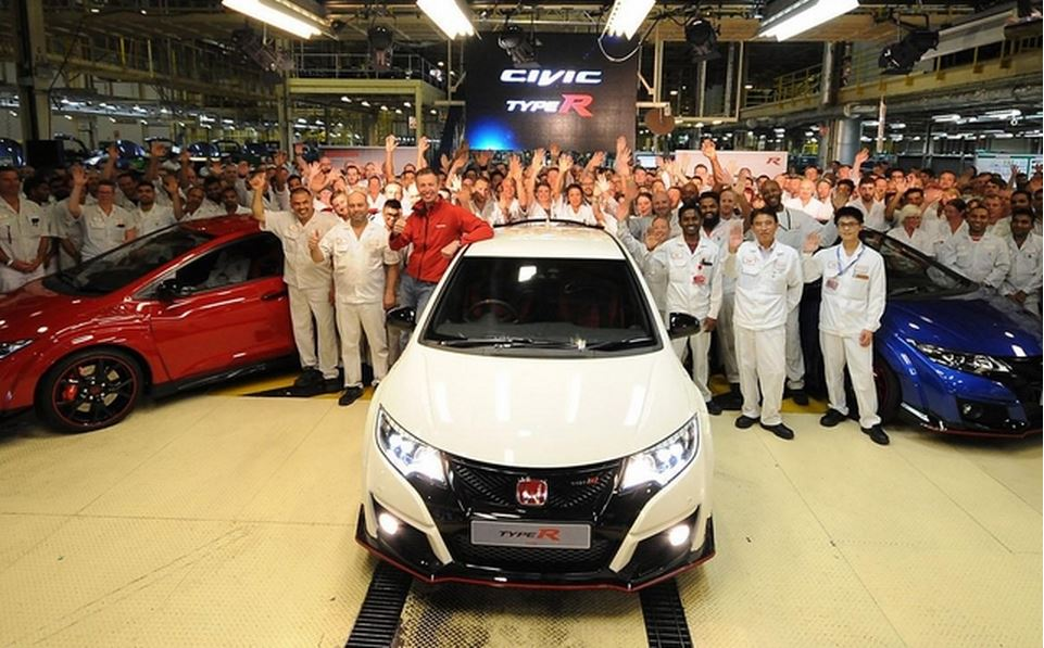CIVIC TYPE-R 生産開始