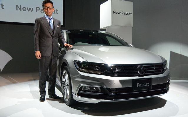VW 新型パサート ディーゼル PHEV3