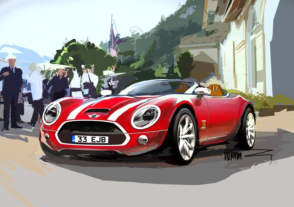 MINI Superleggera design