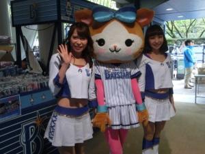 4月13日。キララちゃん、ともさんと一緒に!