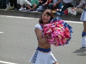 5月3日。ザよこはまパレードにも参加!