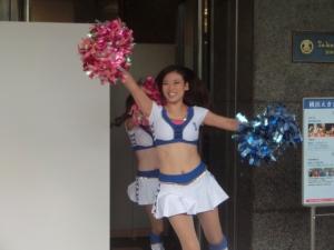 10月4日。横浜えきまつりに登場!