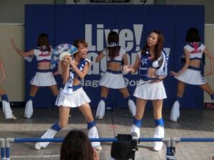 8月27日。名古屋に媚を売る勢いです(^^)