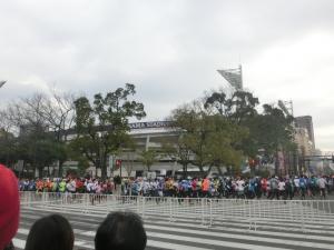 昨日は記念すべき、横浜マラソン!