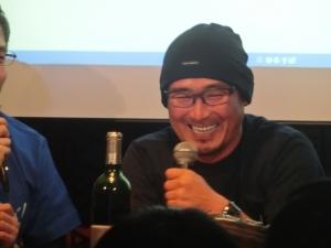 笑顔がすてき!坪井コーチ。