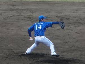 新人・石田投手!
