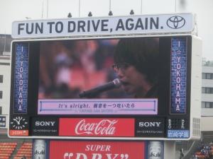高橋優さん、熱唱!