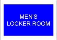 MENS LOCKER ROOM TEMPLATE
