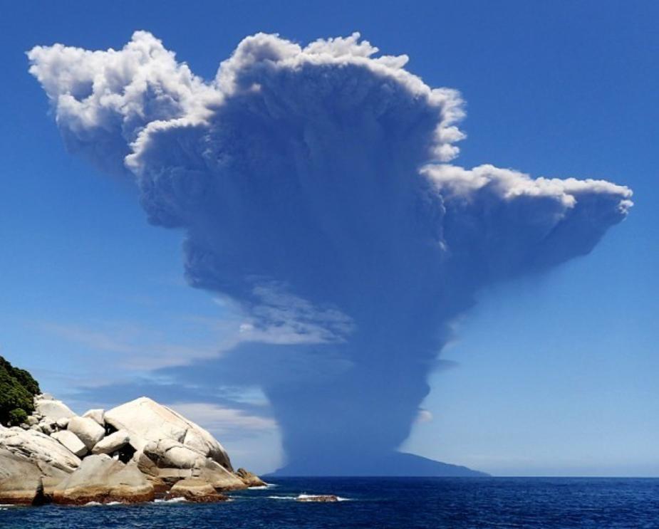 口永良部島噴火