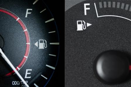 車の給油口