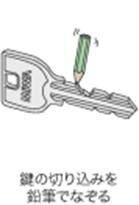 カギの図1