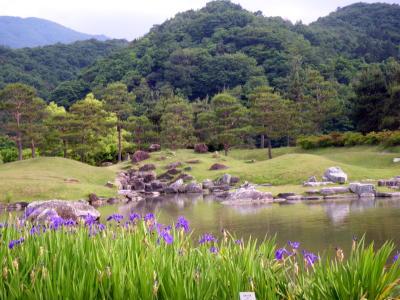 楽山園庭園2