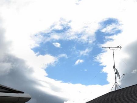 今朝の風景雲 072