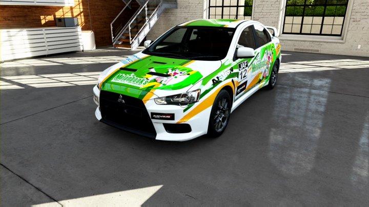MITSUBISHI Lancer Evolution X GSR_s