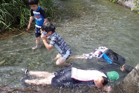 四十八瀬で川遊び2