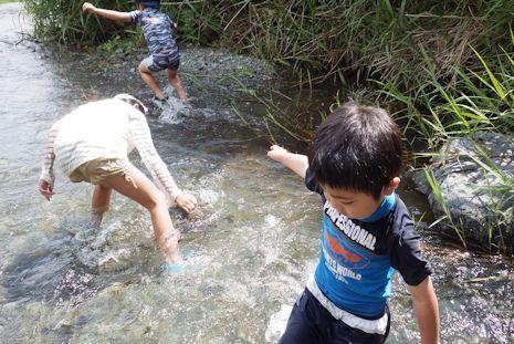 四十八瀬で川遊び3