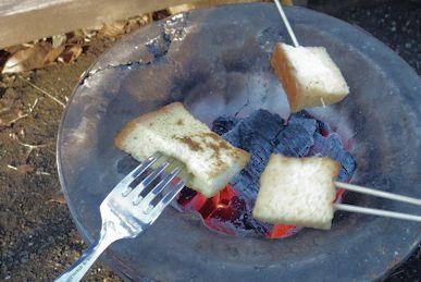 焚火フレンチトースト2