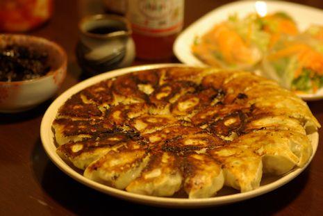 ノビル餃子