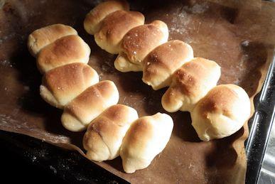 つながりパンが焼けたよ