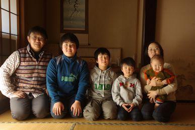 家族写真2015新春