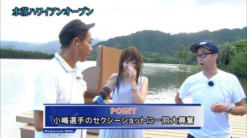 とんねるず水落ハワイオープンに出演したこじはる小嶋陽菜の画像