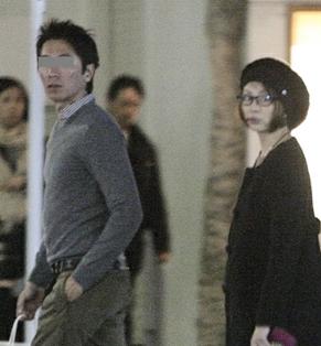 米倉涼子と旦那の画像