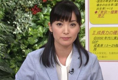 大江麻理子アナの最新画像