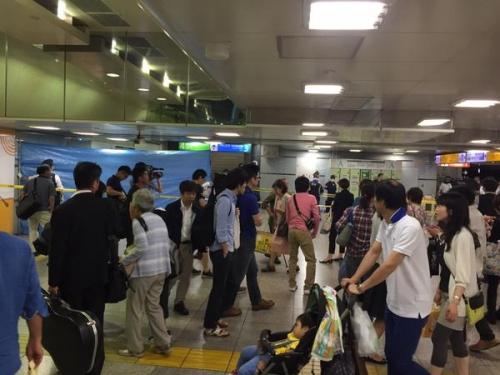 東京駅のロッカーで生首