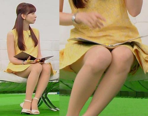 皆藤愛子アナのパンチラに関する画像