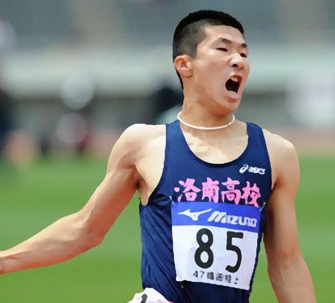 追い風参考で陸上100M・9秒87を記録した桐生祥秀の画像