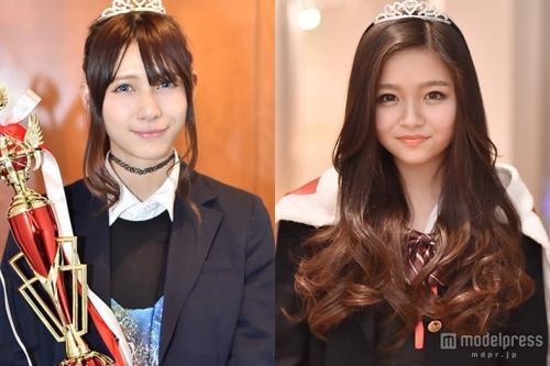 日本一かわいい女子高生の桜井美悠と山本結巳の画像