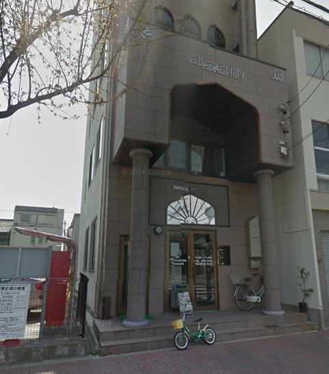 脅迫電話のあった名古屋モスクの画像