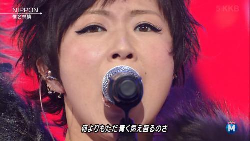 ミュージックステーションに出演した椎名林檎の画像