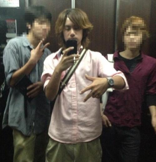 川崎市中一殺害で逮捕された加害者の18歳少年リーダー舟橋龍一の画像