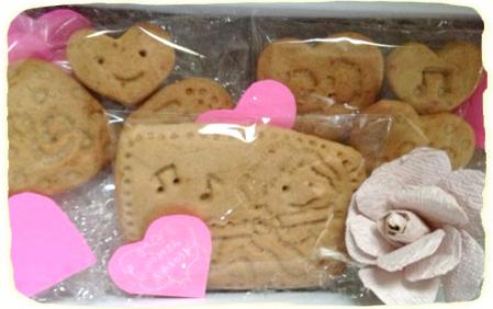 いづみさんへクッキー