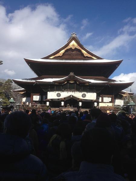 善光寺初詣2015