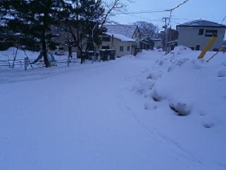 2015雪の街